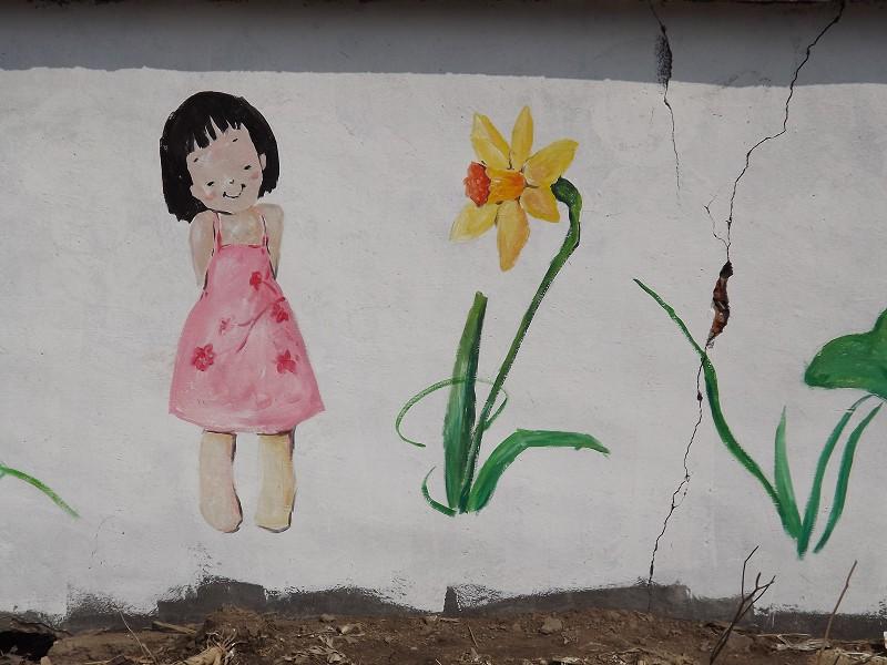 刘丹舞蹈艺术学校侧墙