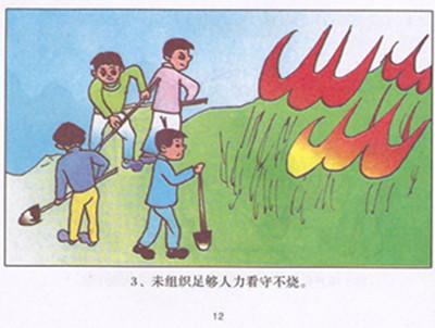 森林防火宣传栏