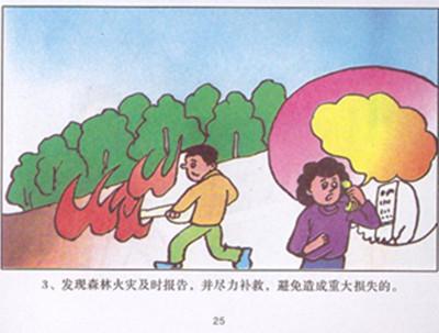 漫画安全漫画安全宣传防火安全安全生产卡通漫画消防_画画大全图片