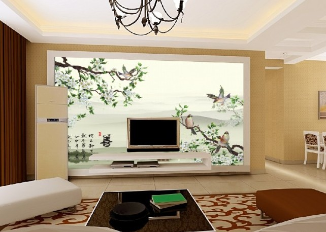 艺术玻璃影视墙,背景墙