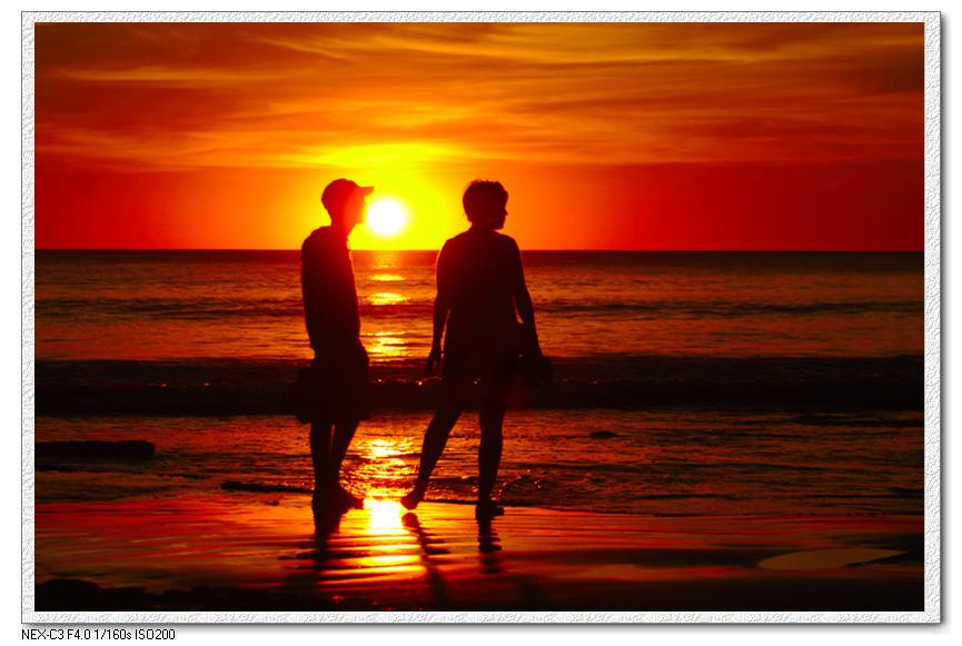描写落日景象的片段_描写除夕景色的段落、文章-