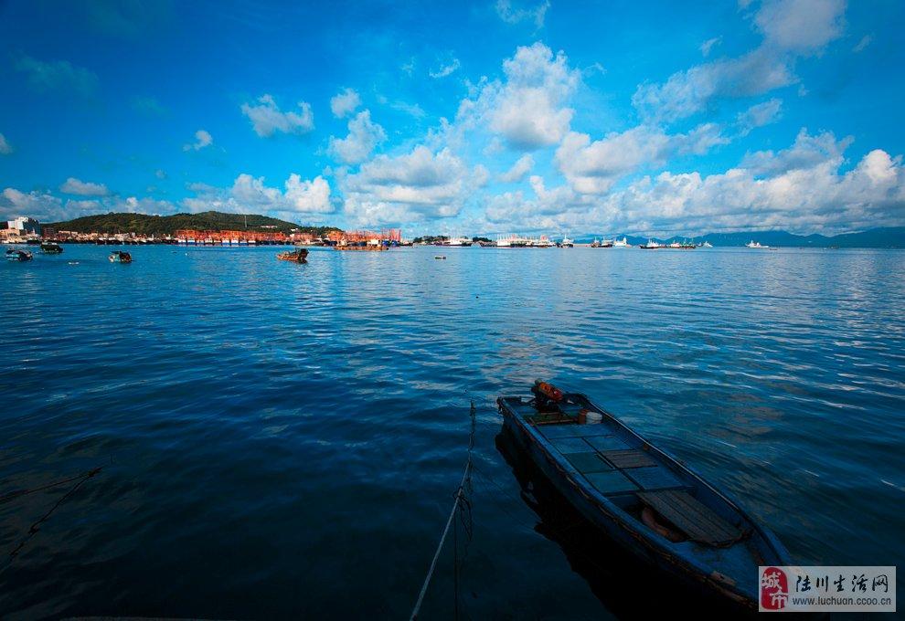 美丽海陵岛风光图