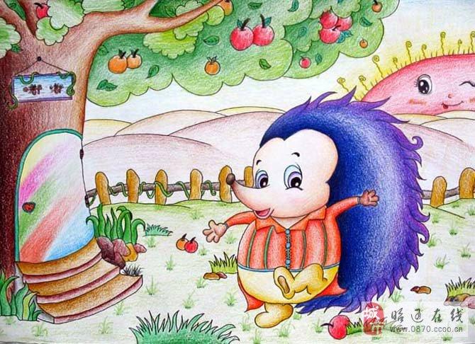 教幼儿画儿童画;