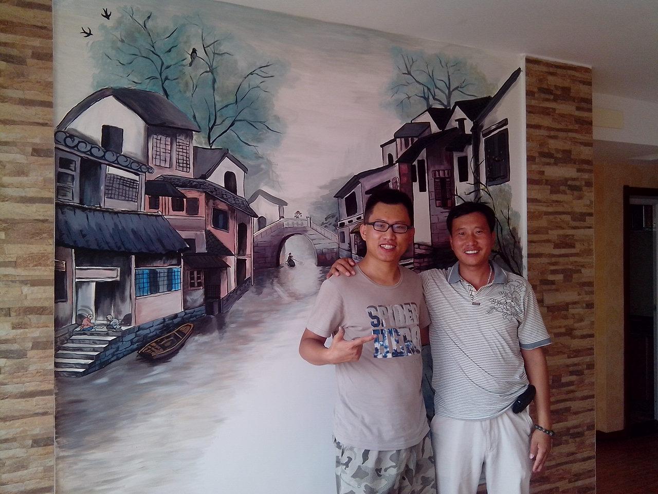 [原创]工程彩绘墙画 手绘墙