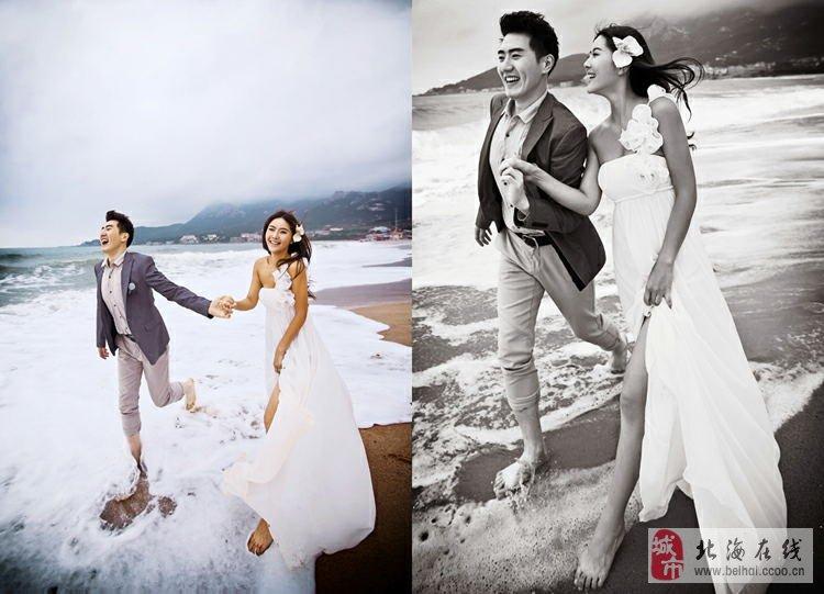 [贴图][讨论]青岛拍婚纱照哪_发型设计