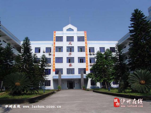龙马潭区泸化中学_泸州市美丽高中评选老师投校园网络祝语图片
