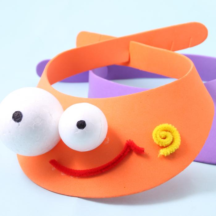 幼儿手工制作安全帽