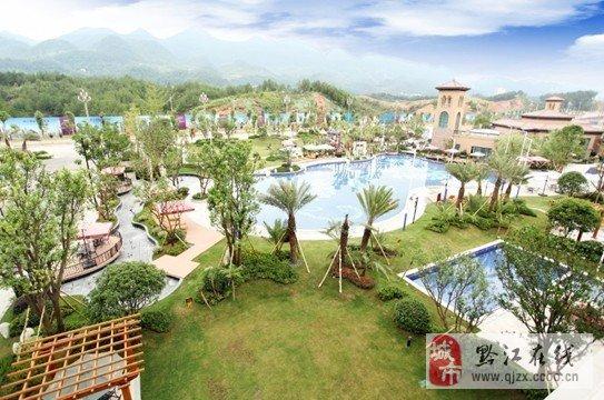 黔江碧桂園,位處黔江新中心,是黔江唯一別墅社區.