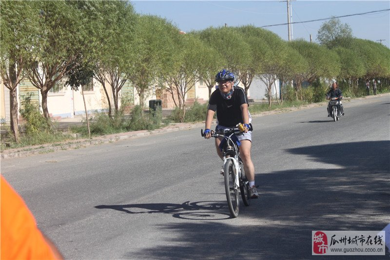[原创]瓜州风雨单车比赛前六名的诞生。
