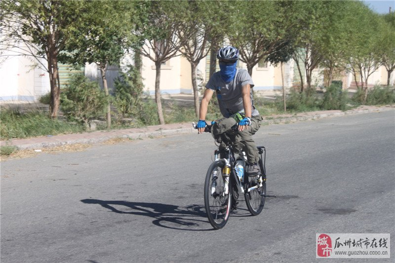 [原创]瓜州风雨单车比赛即将结束