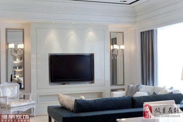 多丽家饰-『家装』纯净的简欧风格样板房
