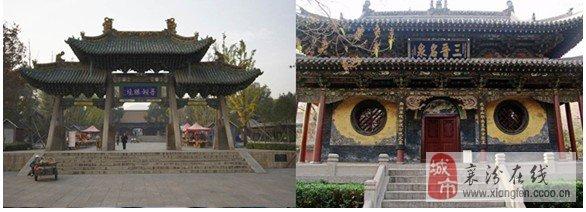 是我国现存规模最大的古代园林式祠庙建筑群