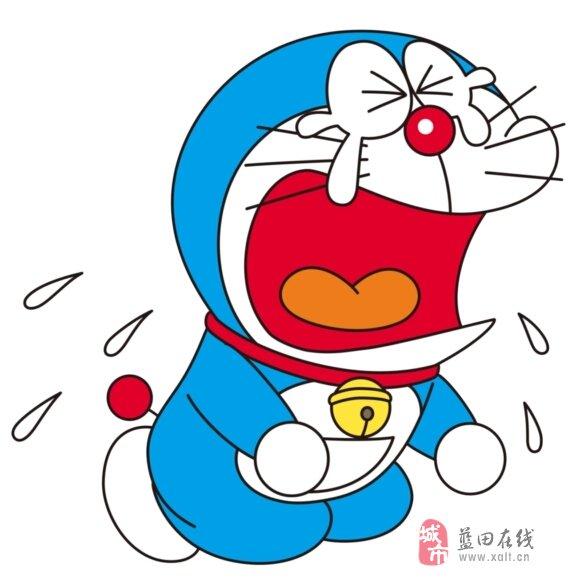 大熊不知道叮当到底发生了什么事,伤心地哭了整晚.