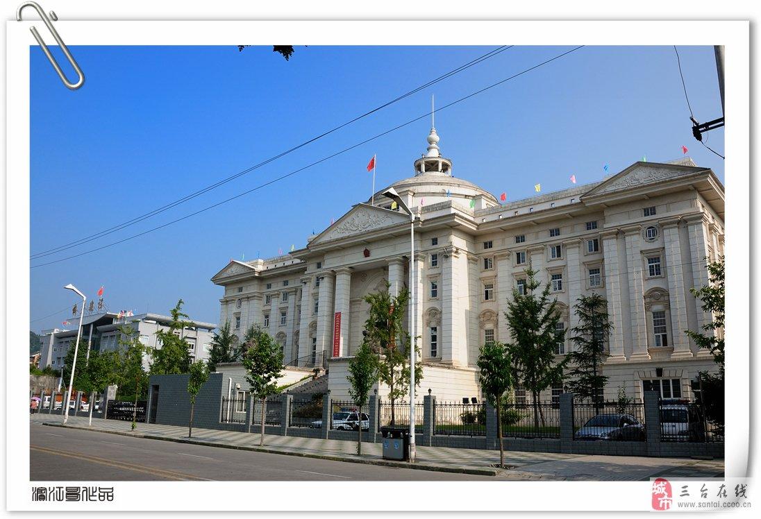 主题: 欧式建筑风格县法院大楼