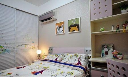 公主房PK王子房12款墙纸打造儿童房