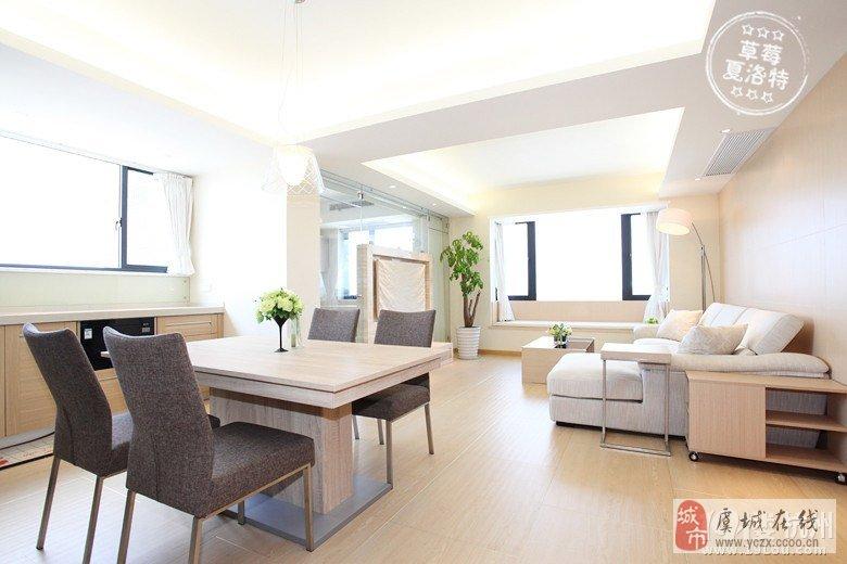 133平3室2厅现代原木设计