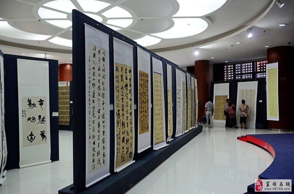 """这次展览的主体为""""畅想中国梦,展示新四川"""",由四川省文化厅主办,以各"""