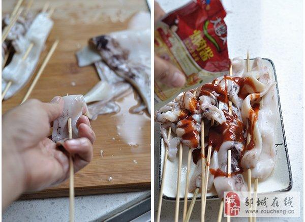 培根虾卷  ――  家庭小烧烤