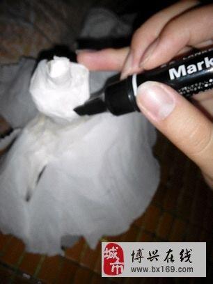 网友手工做的卫生纸婚纱=.=喜欢的收藏