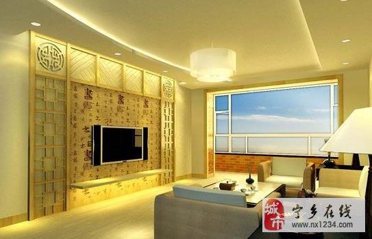 选用木质饰面板用作电视背景墙的优点是:花色品种