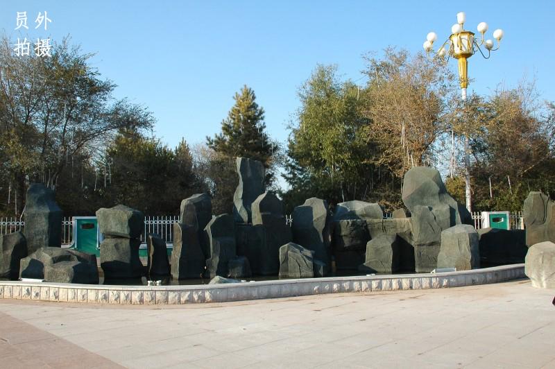 景区欧式围墙大门