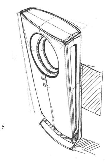 组合式家电产品手绘
