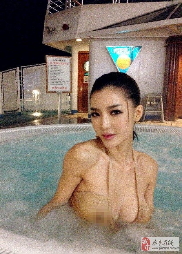 内地嫩模李颖芝爆乳翘臀性感极致诱惑图