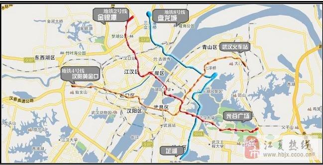 武汉地铁4号线体验 - 铁机路到武昌火车站全程