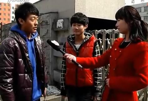 白山网才艺大赛选手采访视频