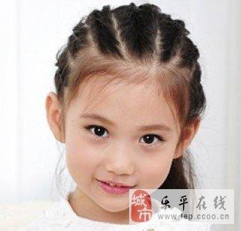 小女孩百变发型