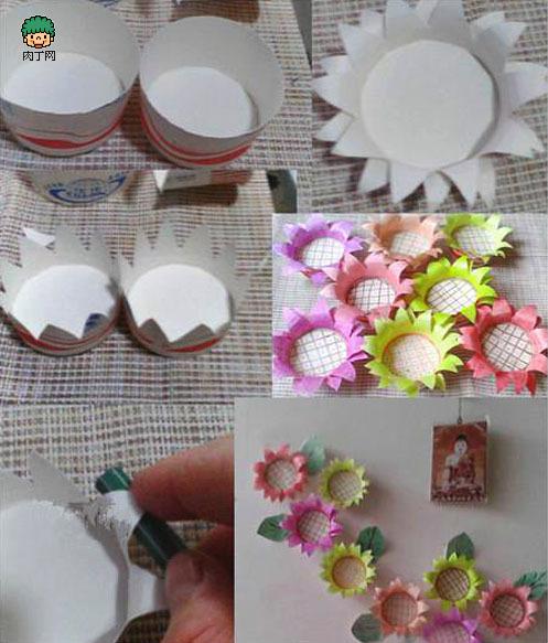 纸杯家具手工图片图片14
