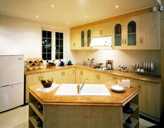 关系生活幸福的厨房装修风水