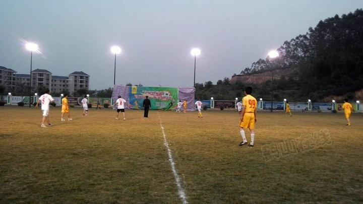 """""""华业丽景杯""""鹤城镇第一届足球比赛"""