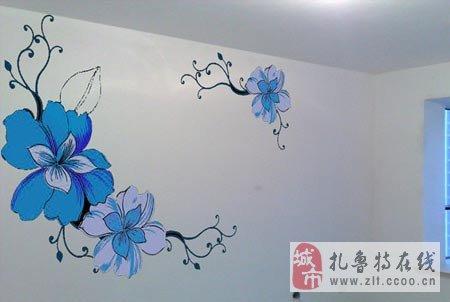 手绘墙绘画