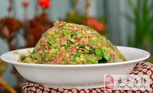 白菜饺子馅的做法图解