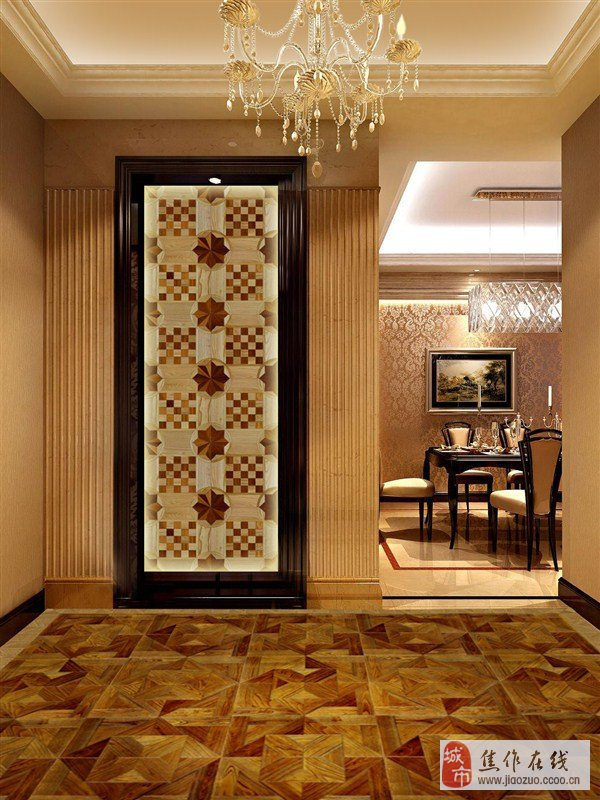 家庭装修 门与木地板的颜色如何搭配