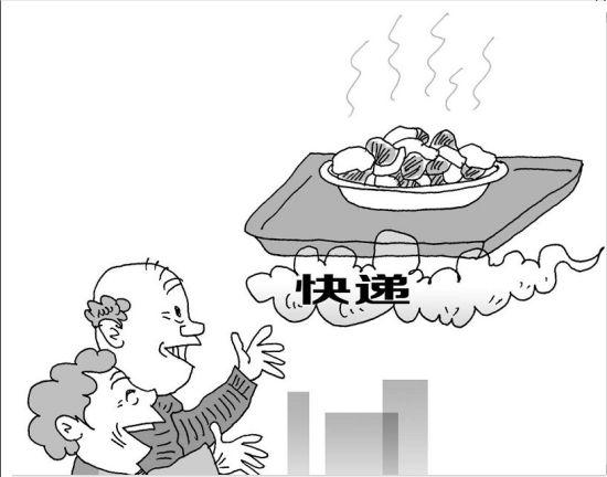 1月7日,小店区中辐院社区里,76岁的施丽芳老人高兴地向邻居讲起她往北京儿子家快递生日宴的事。原来,半个多月前,施丽芳的老伴过生日,老两口在家里做了一堆好吃的,想着和北京的儿子一家也天涯同此时,让远隔千里的一大家人,一起吃着家里饭菜共贺生日。   这些妈妈亲手做的红烧肘子、糖醋排骨、炸鱼片、美味核桃仁等,快递过去时,施丽芳的儿子、儿媳惊喜不已:吃着妈妈做的菜,想着家里的父母亲。   施丽芳的儿子一家3口都在北京,半个多月前,我和北京的儿子通话,两岁半的小孙女一口一个奶奶地叫着,向我问好,