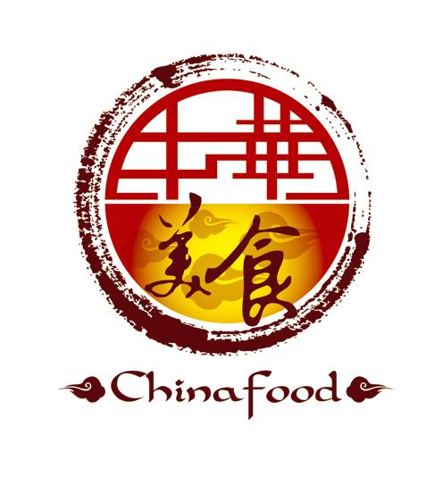 美食logo素材_嘉禾美食LOGO设计标志平面Rent原创设计