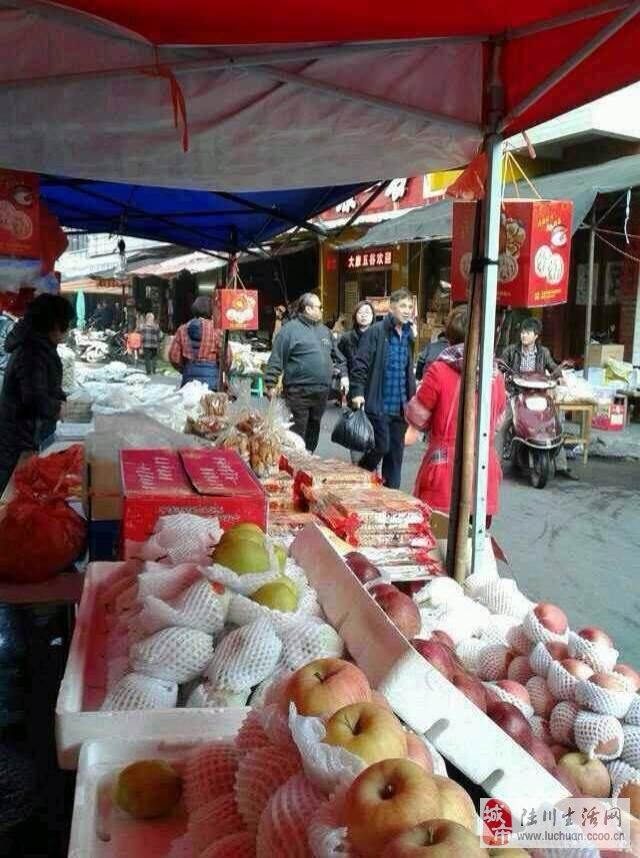 昨天洪金宝在玉林洞市场买菜