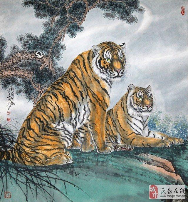 怎么画写意老虎