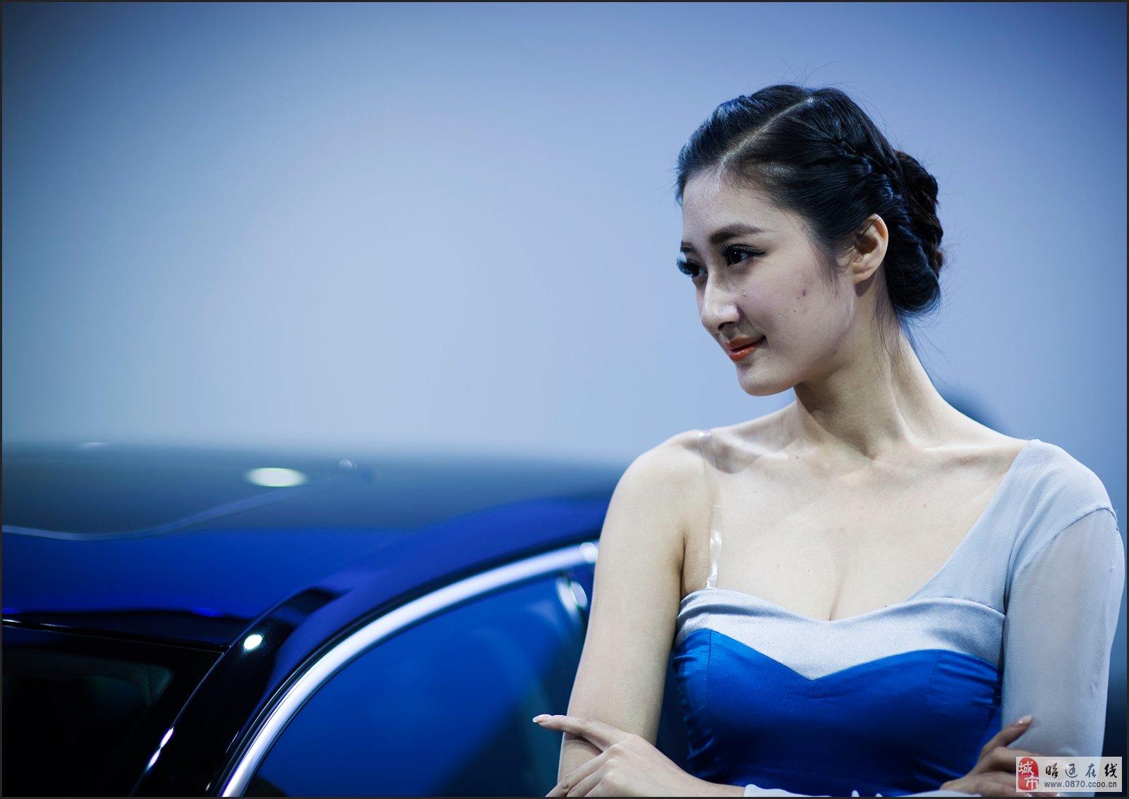 2013广州国际车展看美女