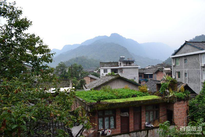 洪雅/图片描述:早晨的洪雅拍摄地点:从住宿处窗户看出去的...