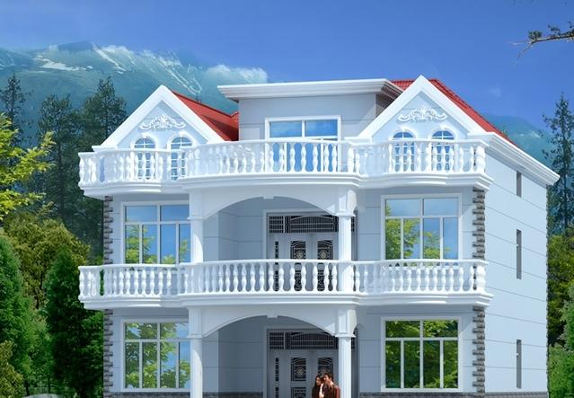 别墅 设计 图纸   农村盖房子新农村建设   农村盖房子效果图