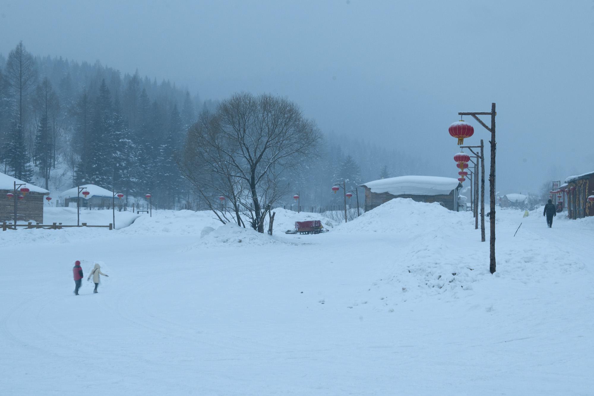 冬季风景微信头像图片大全