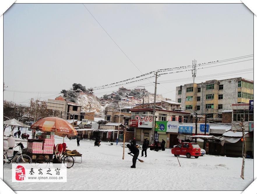 2014年新春第一场雪随拍之一