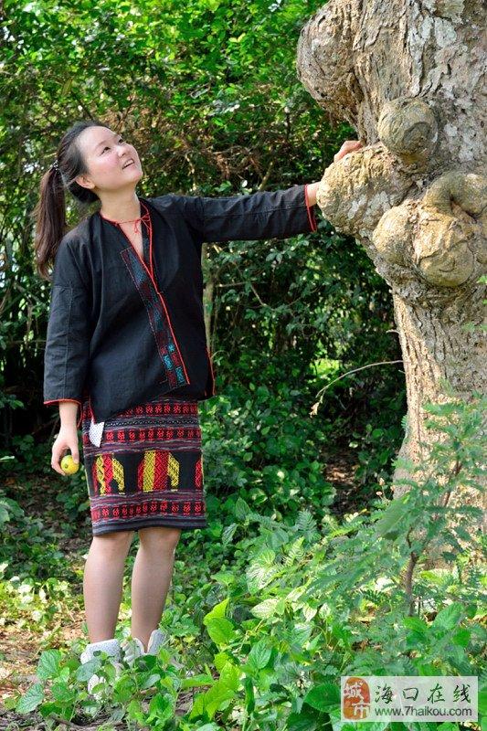 黎族老妇人、芒果老树和实习美女主持人 行走