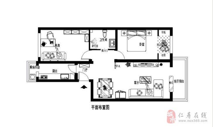 春天般的色彩4.8万装修60平米小户型婚房