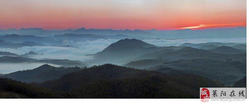 主题: 思念家乡莱阳的山