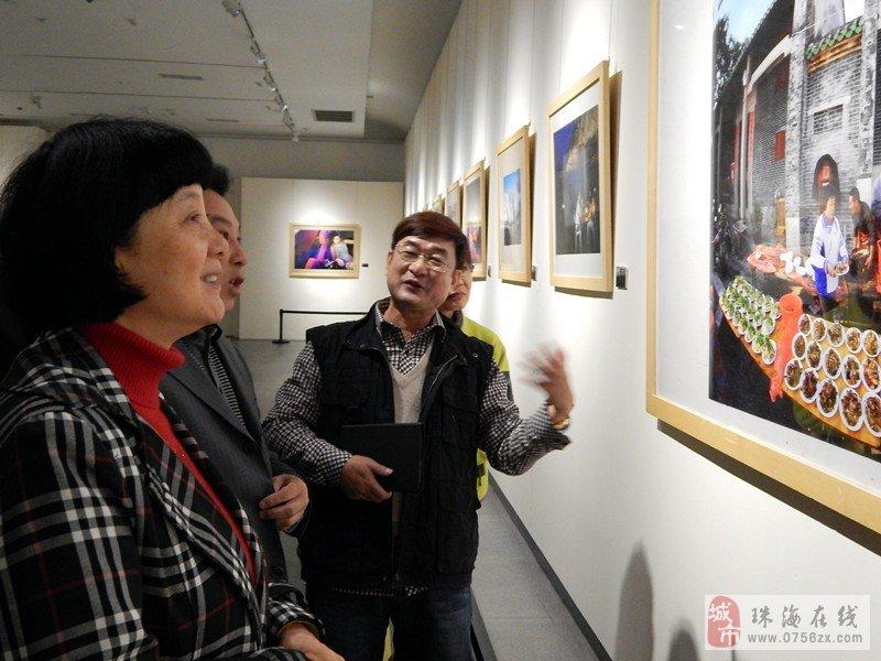 """""""珠海・美""""朱开文摄影艺术展""""在古元美术馆举行"""