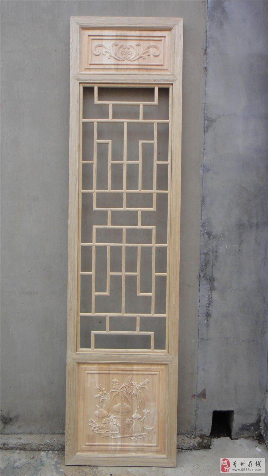 木质月亮门隔断